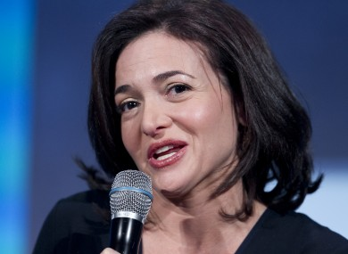 Facebook boss Sheryl Sandberg is now one of the world's youngest