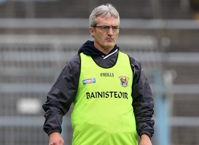 Colm Bonnar previously managed the Wexford hurlers.