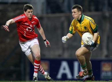 Brian Kelly (right) will start in goal for Kerry in the McGrath Cup final.