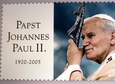 Pope John Paul II died in 2005.