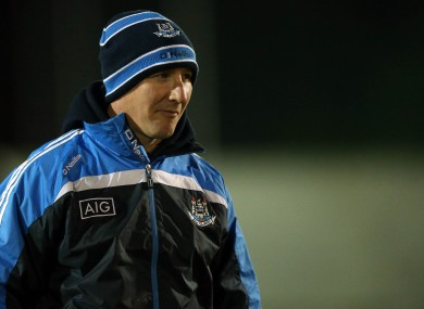 Dublin manager Jim Gavin on New Year's Eve.