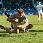 Jordi Murphy scores Leinster's third try.<span class=