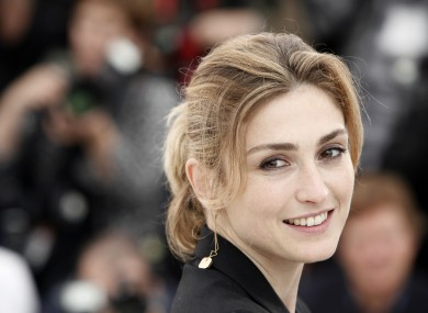 Juliet Gayet at Cannes in 2009