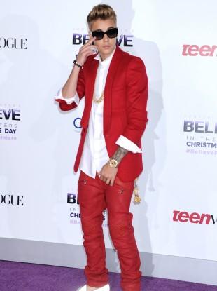 Justin Bieber sans eggs.