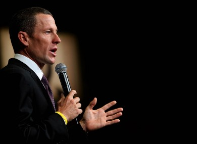 Lance Armstrong: may give details on doping.