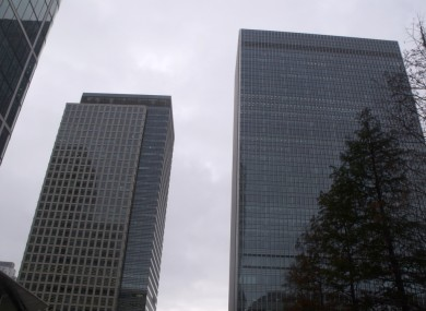 The building at 25 Bank Street (right)