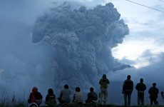 Volcano erupts 30 times in one day