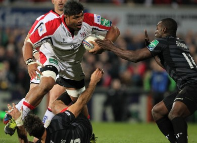 Ulster were 22-16 winners in this fixture at Ravenhill in October.