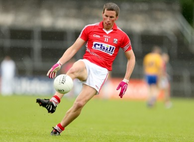 Patrick Kelly is one of the Cork players currently sidelined.