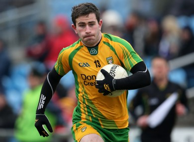 McBrearty: Donegal player was bitten during National Football League game last season.
