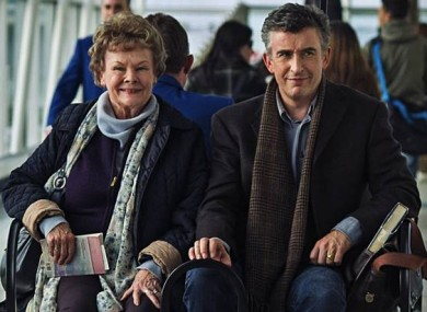 Judi Dench and Steve Coogan are both nominated for Philomena.