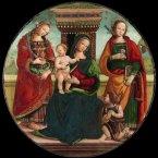 By Maestro del Tondo di Cortona (1450-1490).<span class=