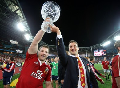 Sean O'Brien filled in at openside for the injured Sam Warburton during the final Lions Test.