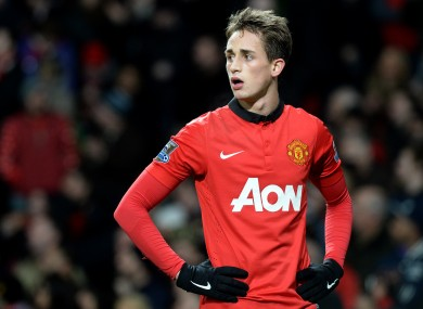 Adnan Januzaj could play a key role in today's game.