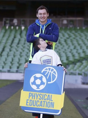 David Gillick believes more needs to be done to encourage Irish children to engage in physical exercise.