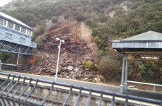 Train services are back at Waterford station after last week's landslide
