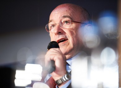 Joaquín Almunia, EU Commissioner for Competition, looking rather sparkly.