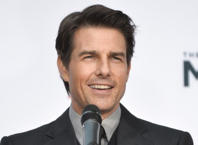 Actor Tom Cruise, who thinks Scientology is great.