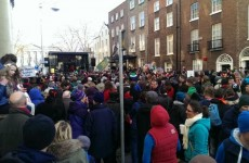 Thousands attend protest calling for increased support of Irish language