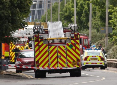 Fire crews from Northern Ireland Fire and Rescue Service. (File photo)