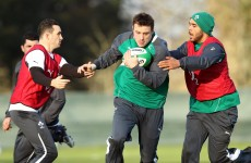 Bowe, Kearney and that man Zebo: What Joe Schmidt had to say about Ireland's wing options today