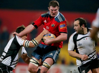 Donnacha Ryan was in fine form for Munster on his provincial return.