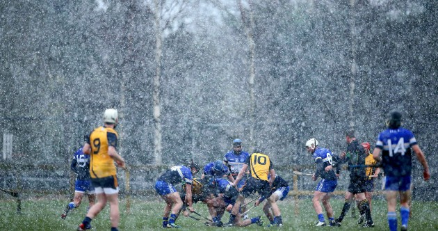 Snow joke for hurlers in today's Fitzgibbon Cup game in Dublin