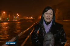 RTE's reporters were like drowned rats on the news last night
