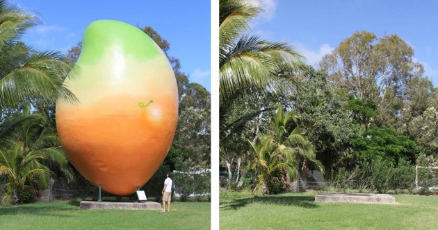 Australia's 10-tonne mango stolen in late-night heist