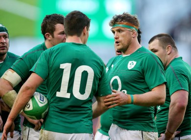 Jamie Heaslip discusses how to play out an Irish penalty call.