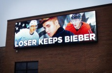 'Loser Keeps Bieber' bet on Olympic hoc
