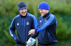 Caption Time: What is Ian Madigan pointing and laughing at?