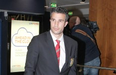 Van Persie disappointed with 'lousy' campaign