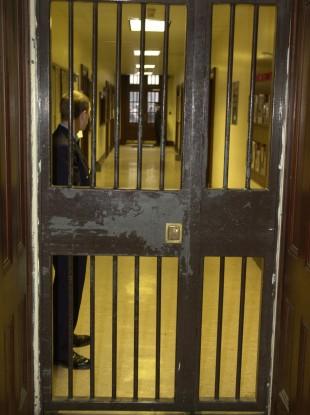 Staff working inside Mountjoy Priso. (File photo)