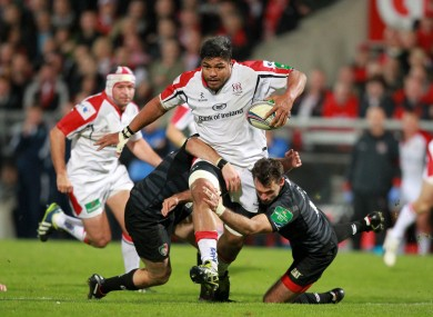 Nick Williams will miss Friday's visit of Dragons to Ravenhill.