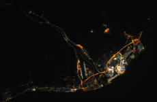 Here's what the Winter Olympics look like from space