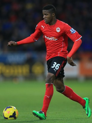 Zaha made his Bluebirds debut on Saturday.