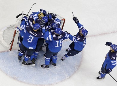 Jeers As Russia Crash Out Of Ice Hockey Tournament In Sochi The42