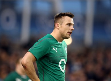 Tommy Bowe will not feature against England this weekend.