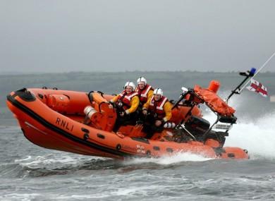 Lough Ree RNLI lifeboat
