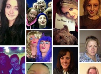Some of the people who donated to the Irish Cancer Society