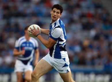 Brendan Quigley in action for Laois against Dublin in 2012.