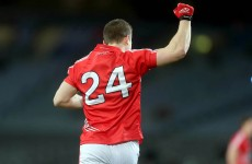 After three torn cruciates, two points from play make one Cork footballer a happy man