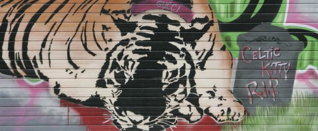 Official End Of The Celtic Tiger: Tiger's Gone: Inventor Of Celtic Tiger Resigns · TheJournal.ie