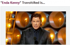Here's how John Travolta would mangle some famous Irish names