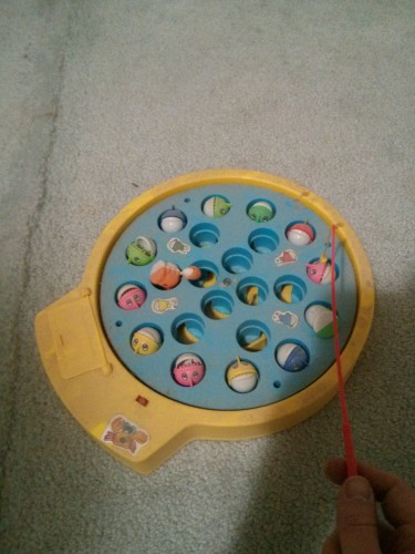 Oh yeah, I found the old electric fishing game! - Imgur