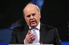 Michael Noonan is sending a signal out to Europe that Ireland can use another bank