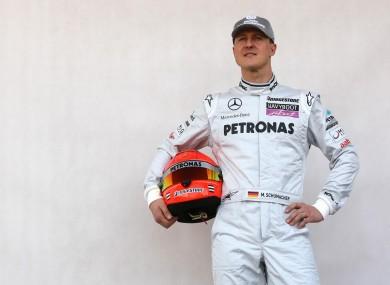 Schumacher (file photo).