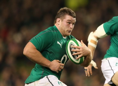 McGrath has six caps for Ireland already.