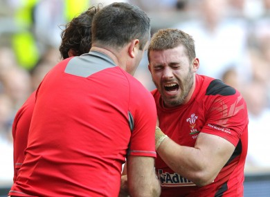 Leigh Halfpenny will miss the remainder of the season.